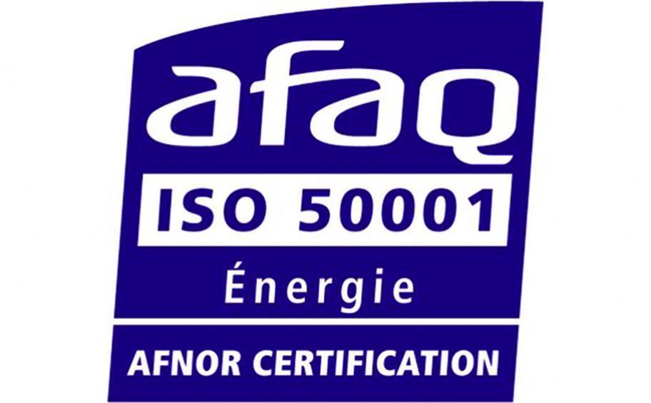 logo de la certification Afaq ISO 50001 Énergie